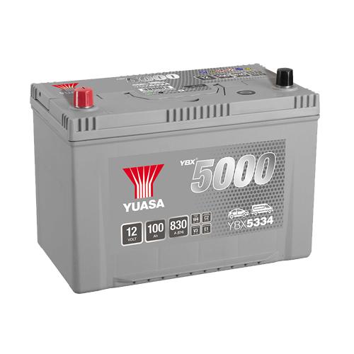 Аккумулятор YUASA 6СТ 100.1 YBX5334 125D31R купить в Волгограде