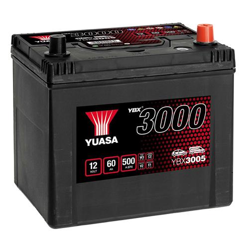 Аккумулятор YUASA 6СТ-60.0 YBX3005 60D23L купить в Волгограде