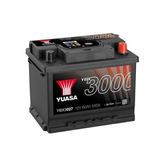 Аккумулятор YUASA 6СТ-62.0 YBX3027 купить в Волгограде
