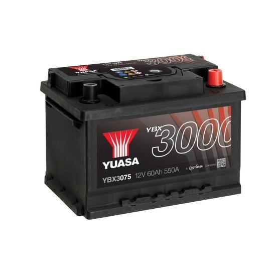 Аккумулятор YUASA 6СТ-60.0 YBX3075 купить в Волгограде