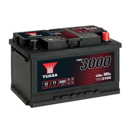 Аккумулятор YUASA 6СТ-71.0 YBX3100 купить в Волгограде