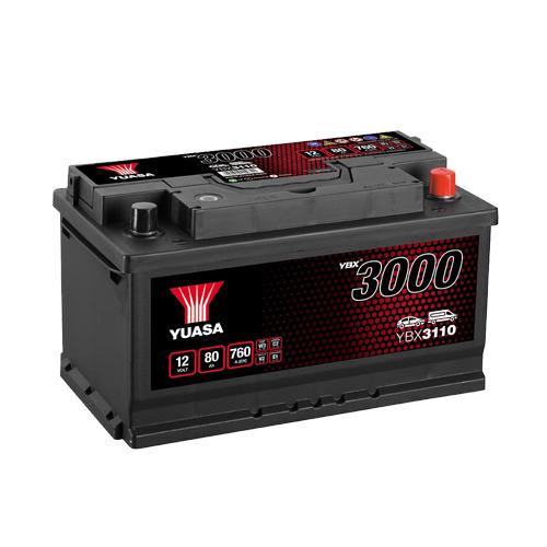 Аккумулятор YUASA 6СТ-80.0 YBX3110 купить в Волгограде